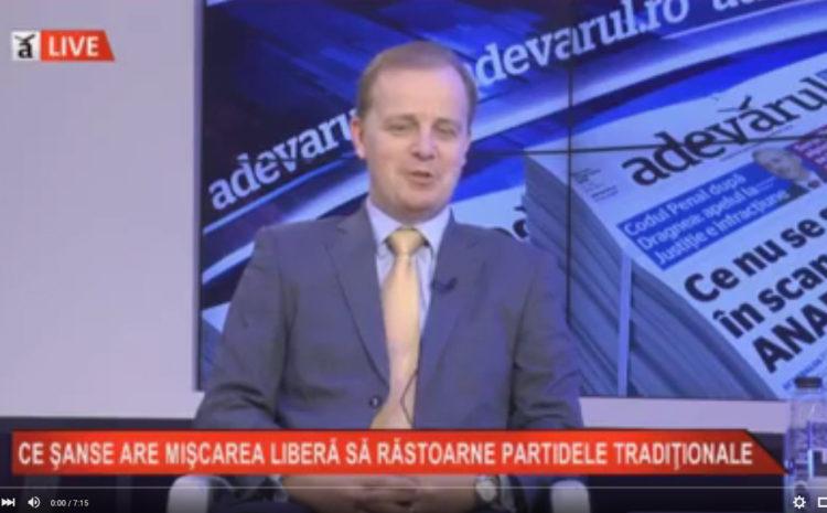 Octavian Badescu (Miscarea Liberala) – despre alegerile locale
