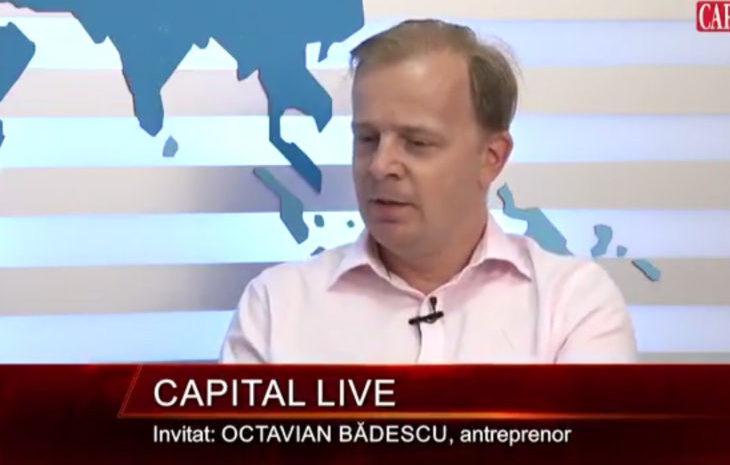 Capital Live – Interviu Octavian Badescu – Partea 1