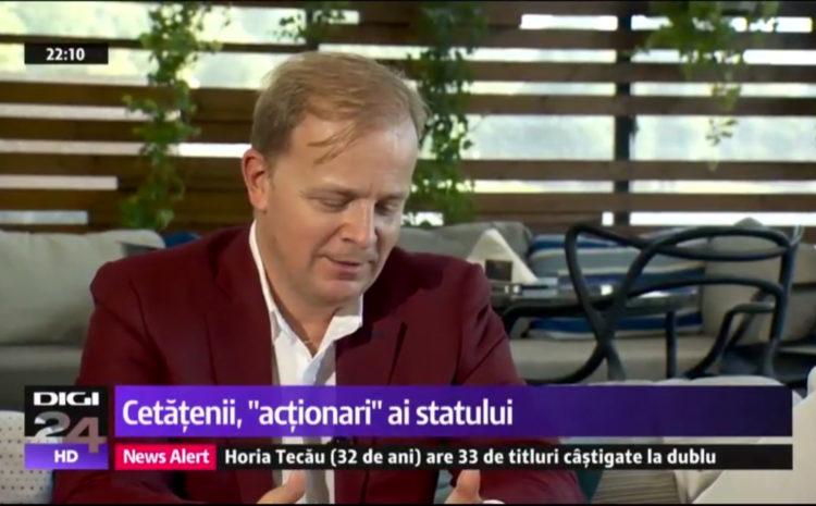Digi24 – Interviu Octavian Badescu – Partea 2