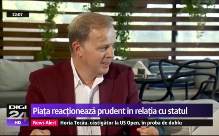 Digi24 – Interviu Octavian Badescu – Partea 1